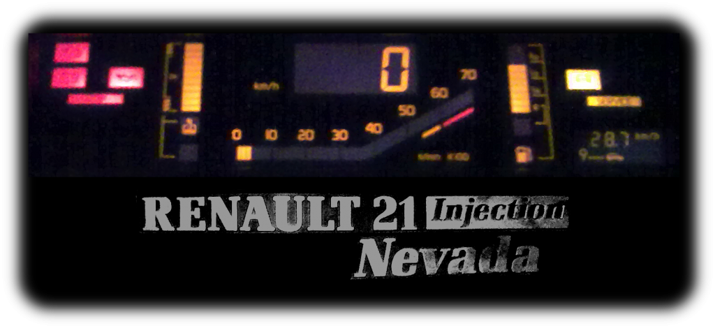 renault 21 txe injection nevada