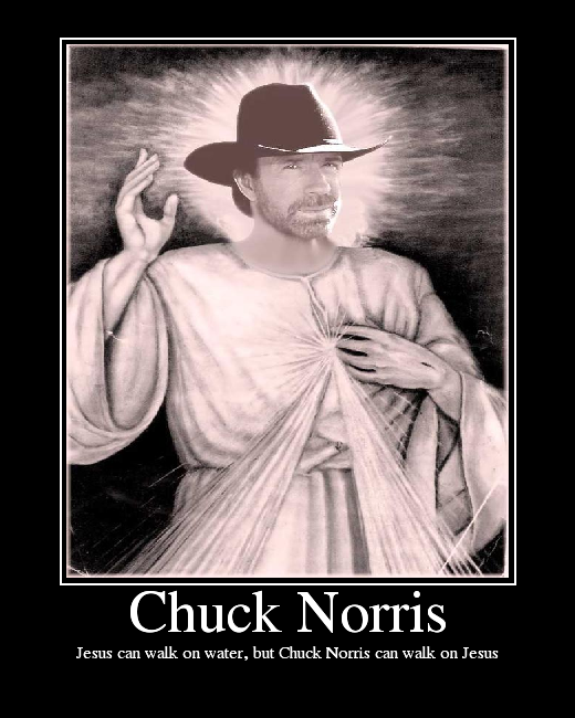 Chuck Norris for god